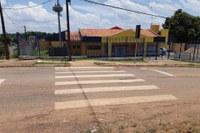 Prefeitura de Porto Velho atende pedido de Edwilson Negreiros e instala faixa de pedestres na zona Sul