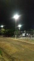 Quadra Poliesportiva do bairro São Sebastião II é contemplada com iluminação a pedido do vereador Paulo Tico