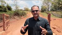 Vereador Paulo Tico tem pedido de providências atendido e ponte sobre o rio Taboca é revitalizada na zona rural da capital.